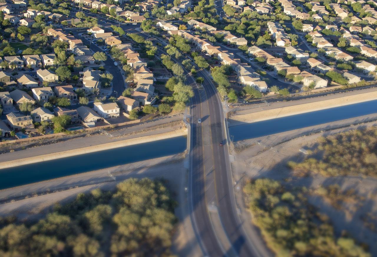 CAP Canal Norterra Bridge
