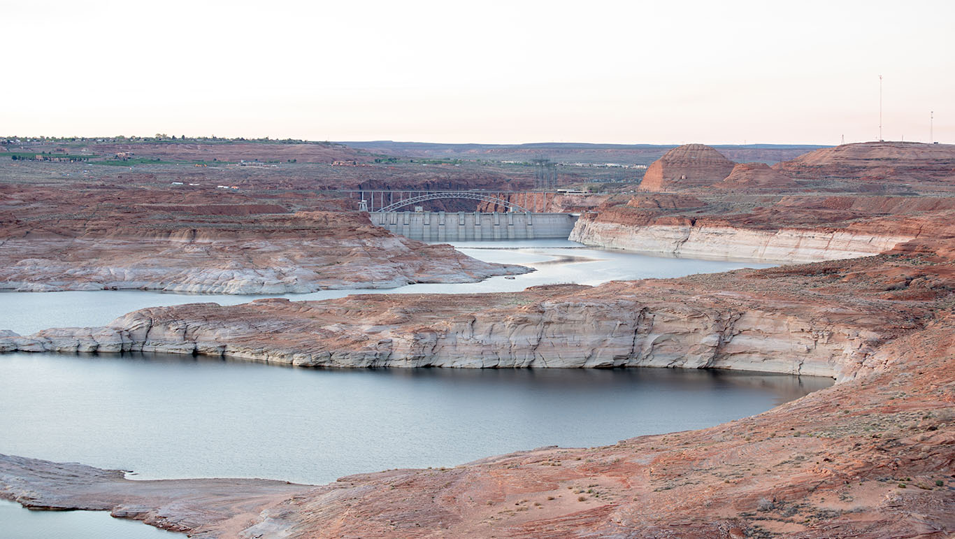 Lake Powell and Glen Canyon DamMarch 26, 2016Central Arizona Project photo