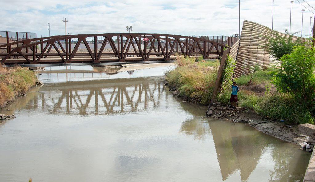 Colorado River at the Mexico Border