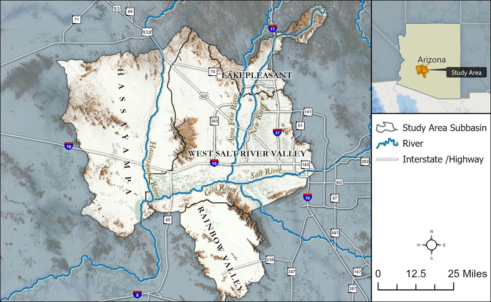 WSRVBS Map