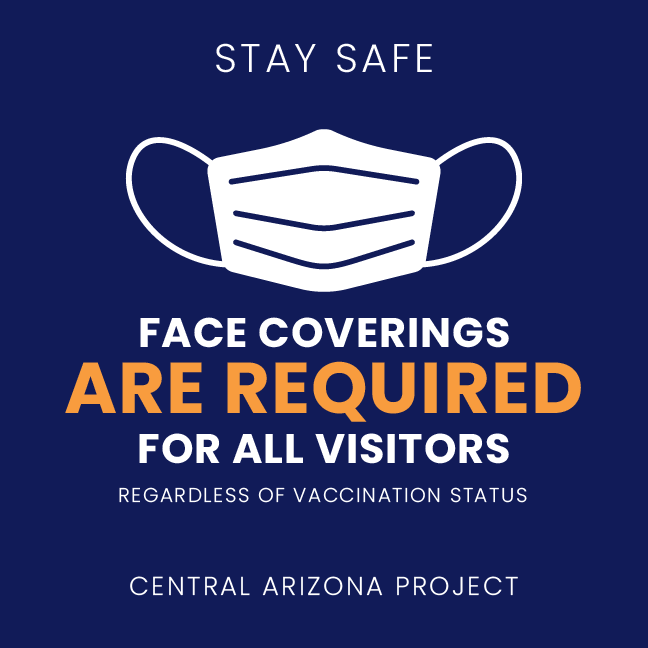 CAP Visitors Face Covering Requirement Graphic