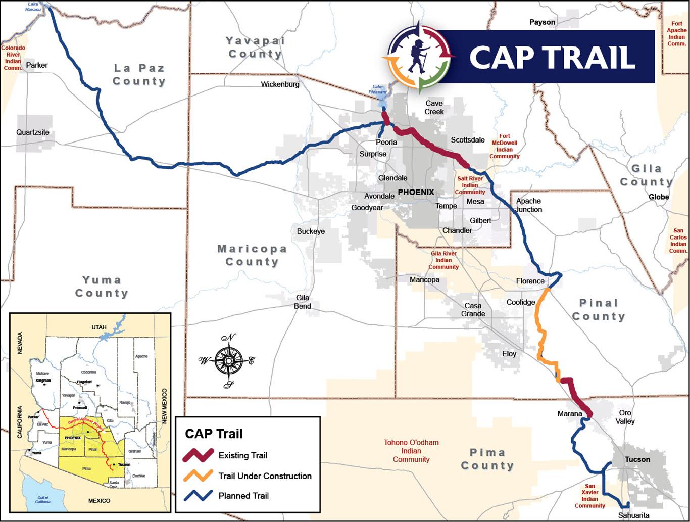 CAP Trail Map